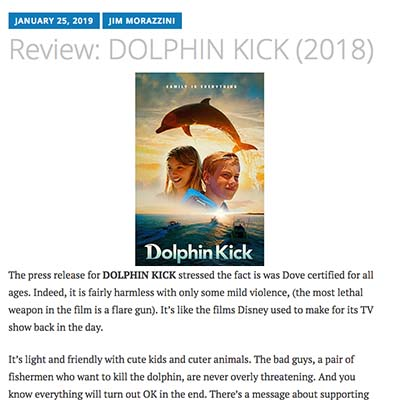 Review: DOLPHIN KICK (2018)