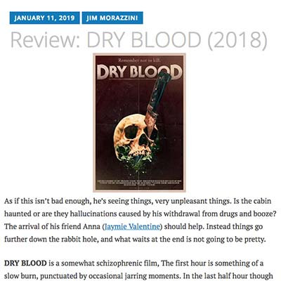 Review: DRY BLOOD (2019)