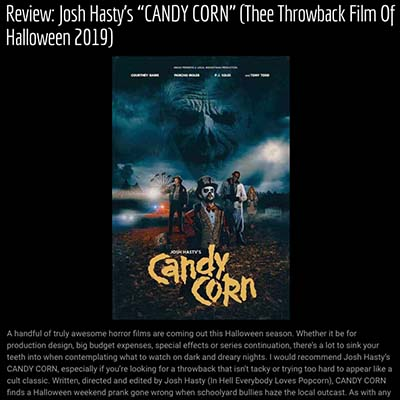 "Review: Josh Hasty's ""CANDY CORN"" (Thee Throwback Film Of Halloween 2019)"