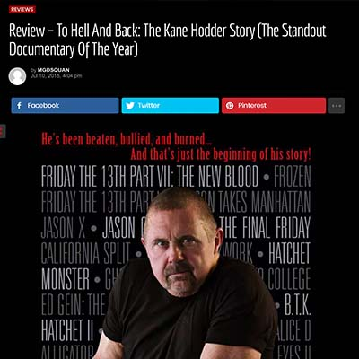 Review – To Hell And Back: The Kane Hodder Story (The Standout Documentary Of The Year)