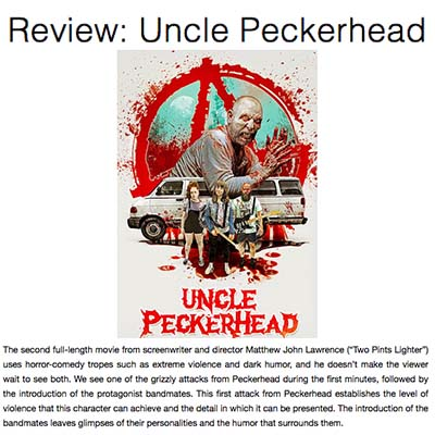 Review: Uncle Peckerhead