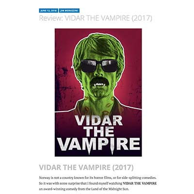 Review: VIDAR THE VAMPIRE