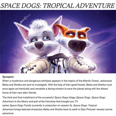 SPACE DOGS: TROPICAL ADVENTURE (2021) Review