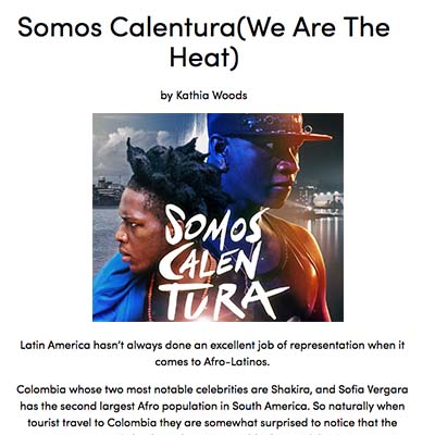 Somos Calentura(We Are The Heat)