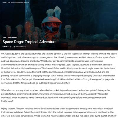 Space Dogs: Tropical Adventure - Review