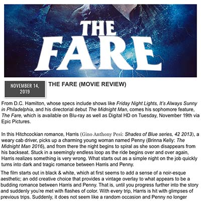 THE FARE (MOVIE REVIEW)