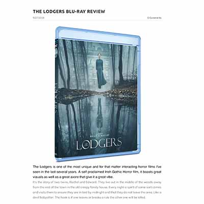 THE LODGERS BLU-RAY REVIEW