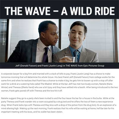 THE WAVE – A WILD RIDE