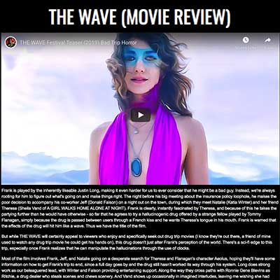 THE WAVE (MOVIE REVIEW)