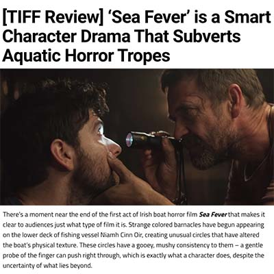 [TIFF Review] 'Sea Fever' is a Smart Character Drama That Subverts Aquatic Horror Tropes