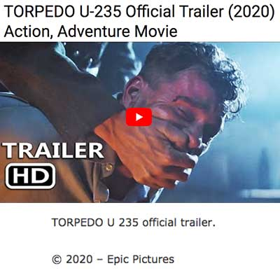 TORPEDO U-235 Official Trailer (2020) Action, Adventure Movie