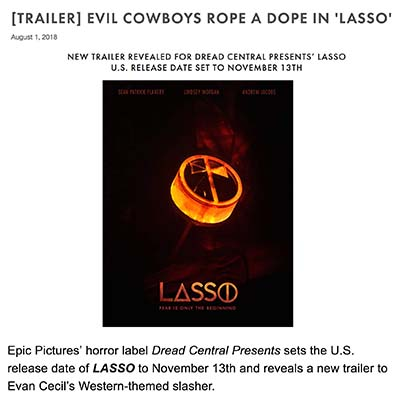 [TRAILER] EVIL COWBOYS ROPE A DOPE IN 'LASSO'