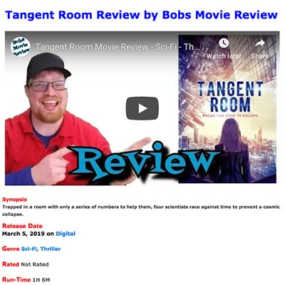 Tangent Room Review by Bobs Movie Review