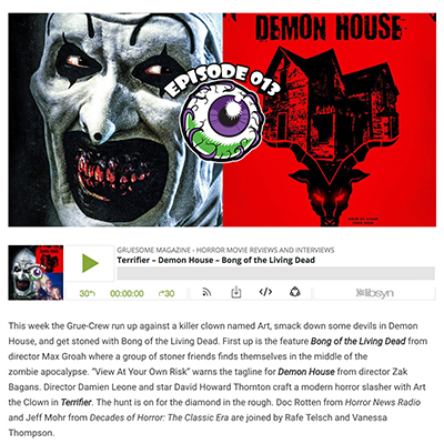 Terrifier – Demon House – Bong of the Living Dead