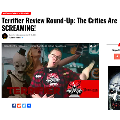 Terrifier Review Round-Up: The Critics Are SCREAMING!
