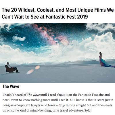 The 20 Wildest, Coolest, and Most Unique Films We Can't Wait to See at Fantastic Fest 2019