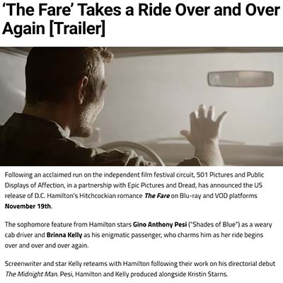 'The Fare' Takes a Ride Over and Over Again [Trailer]