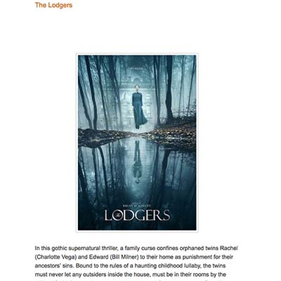 The Lodgers- Review