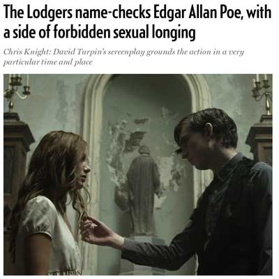 'The Lodgers' name-checks Edgar Allan Poe, with a side of forbidden sexual longing