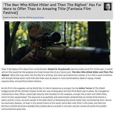 'The Man Who Killed Hitler and Then The Bigfoot' Has Far More to Offer Than An Amazing Title [Fantasia Film Festival]