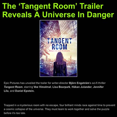 The 'Tangent Room' Trailer Reveals A Universe In Danger