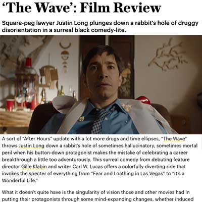 'The Wave': Film Review