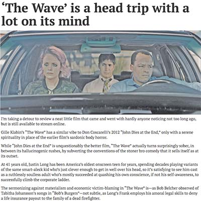 'The Wave' is a head trip with a lot on its mind