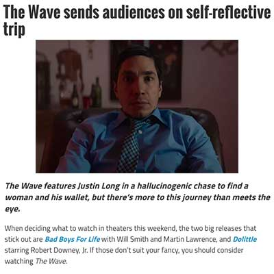 The Wave sends audiences on self-reflective trip