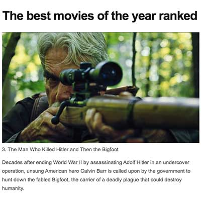 The best movies of the year ranked