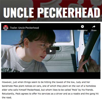 UNCLE PECKERHEAD - Film & TV Now