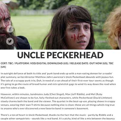 UNCLE PECKERHEAD - Starburst Film Review