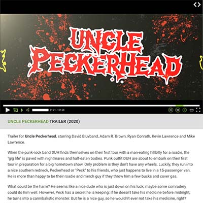 UNCLE PECKERHEAD TRAILER (2020)