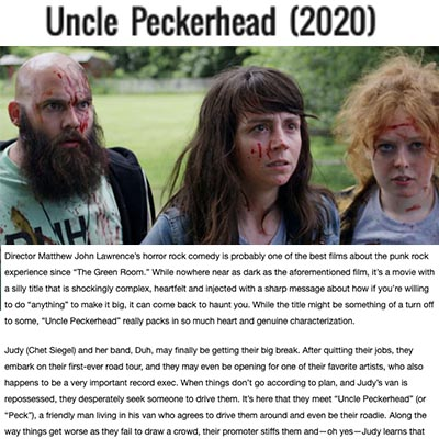 Uncle Peckerhead (2020) - Movie Review