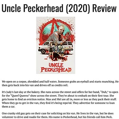 Uncle Peckerhead (2020) Review