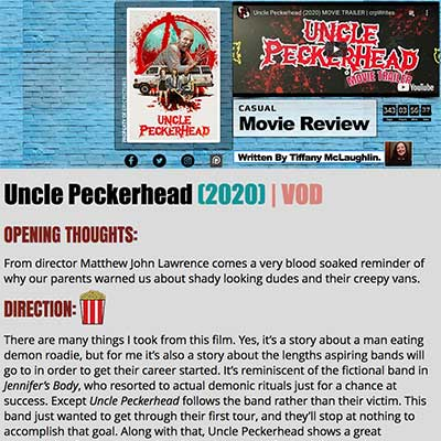 Uncle Peckerhead (2020) | VOD