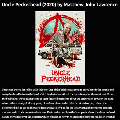 Uncle Peckerhead (2020) by Matthew John Lawrence