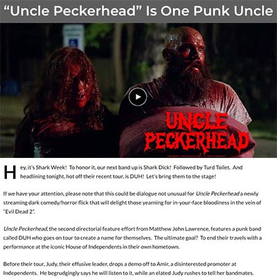 """Uncle Peckerhead"" Is One Punk Uncle"