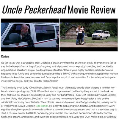 Uncle Peckerhead Movie Review