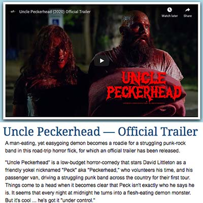 Uncle Peckerhead — Official Trailer