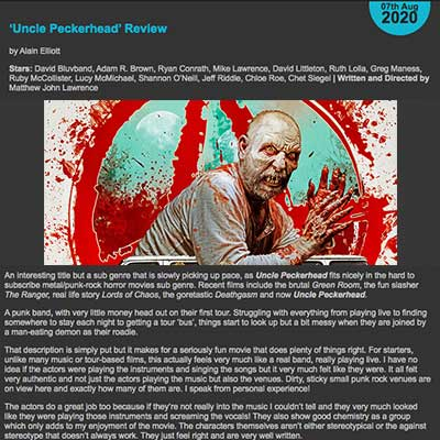 'Uncle Peckerhead' Review