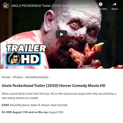 Uncle Peckerhead Trailer (2020) Horror Comedy Movie HD - Tumblr