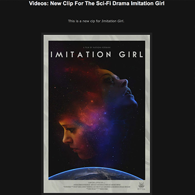 Videos: New Clip For The Sci-Fi Drama Imitation Girl
