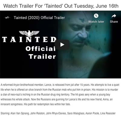 Watch Trailer For 'Tainted' Out Tuesday, June 16th