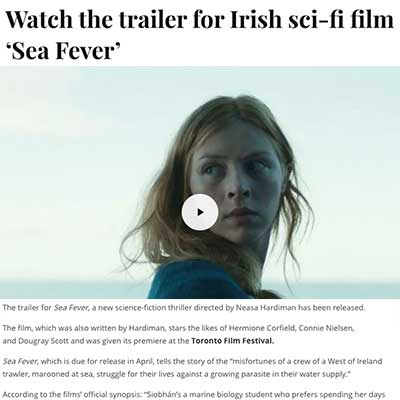 Watch the trailer for Irish sci-fi film 'Sea Fever'