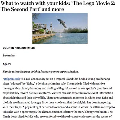What to watch with your kids: 'The Lego Movie 2: The Second Part' and more