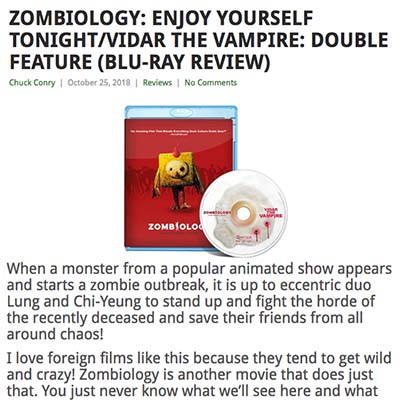 ZOMBIOLOGY: ENJOY YOURSELF TONIGHT/VIDAR THE VAMPIRE: DOUBLE FEATURE (BLU-RAY REVIEW)