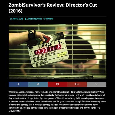 ZombiSurvivor's Review: Director's Cut